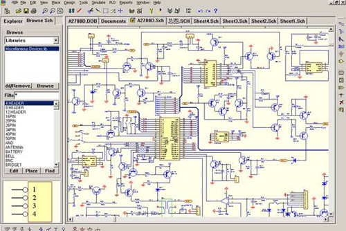 the schematic package library.jpg