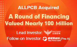 A round of financing, ALLPCB, Vision capital