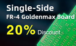 Big Discount, Single-Side, Goldenmax PCB