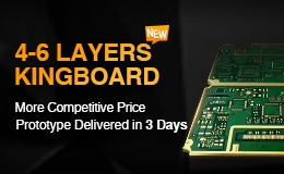 4-6 Layers, Kingboard, ALLPCB